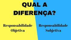 Qual a diferença entre responsabilidade Civil subjetiva e objetiva?? - Aspecto Jurídico