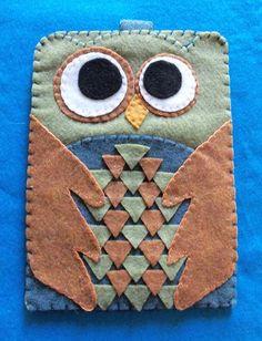 Felt Owl iPhone Case