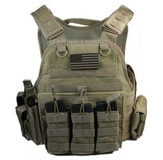 Body Armor With Level III Comfort Curve Steel Plates & Tactical Carrier in Sporting Goods, Hunting, Tactical & Duty Gear