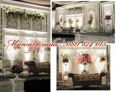 dekorasi-pernikahan-jawa-modern-di-jakarta Simple Wedding Decorations, Backdrop Decorations, Simple Weddings, Reception Decorations, Decor Wedding, Javanese Wedding, Indonesian Wedding, Wedding Invitation Paper, Wedding Paper