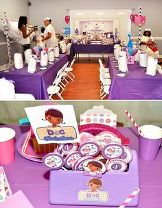 Purple Doc McStuffins Birthday