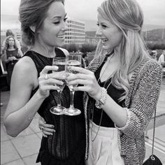 Lauren Conrad and Lo Bosworth. I love that they have been friends so long just like my friends and I (: