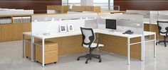 MultiStations OS #ThreeH #OfficeDesign #office #interiordesign #furniture http://www.benharoffice.com/
