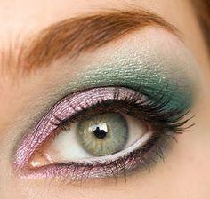 Green & Purple.