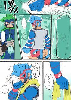 ARMS Spring Man Ninjara comic part 1 by @nkraae
