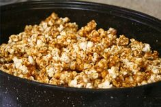 Ideas for popcorn seasoning.