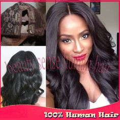 Find More Wigs Information about 180% density 7A Grade Unprocessed U part wig Brazilian Virgin hair Narrow part size on middle part human hair U part wigs,High Quality wig,China wig remy Suppliers, Cheap wig hair color from Top-level beauty sense human hair on Aliexpress.com
