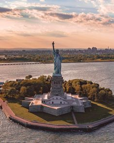 Lady Liberty by Marco DeGennaro Photography - New York City Feelings Visit New York City, New York City Photos, New York City Travel, City Aesthetic, Dream City, New Jersey, The Great Outdoors, Statues, Statue Of Liberty