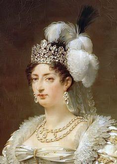 Marie-Thérèse-Charlotte de France, Duchesse d'Angoulême, Madame Royale, par Antoine-Jean Gros (French, 1810-1820)