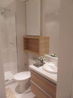 Banheiro Empreendimento Way - Living