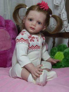 Lifelike   Reborn toddler   doll  Fridolin.