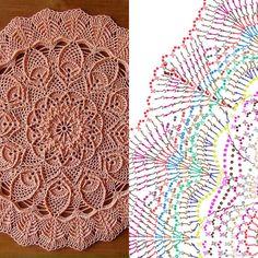 рельефные салфетки крючком описание бесплатно: 2 тыс изображений найдено в Яндекс.Картинках Crochet Mandala Pattern, Crochet Circles, Crochet Stitches Patterns, Crochet Diagram, Filet Crochet, Lace Doilies, Crochet Doilies, Crochet Flowers, Doily Rug