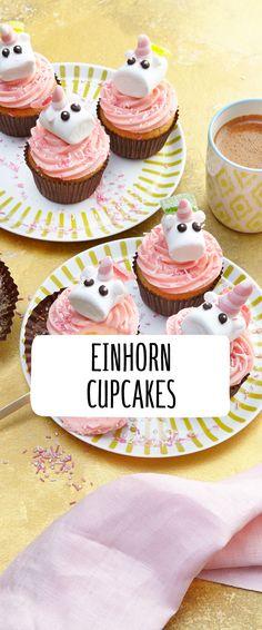 GroBartig Einhorn Cupcakes