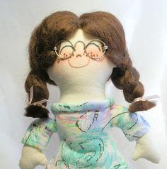 Lovely Handmade Rag Doll - :