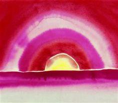 Sunrise - Georgia O'Keeffe