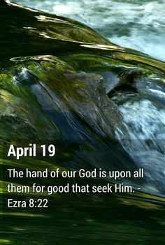 Ezra 8:22 KJV For I was ashamed to require of the king a band of soldiers & horseman to help us against the enemy in the way: because we had spoken unto the king, saying, The hand of our God is upon all them for good that seek him; but his power & his wrath is against all them that forsake him.