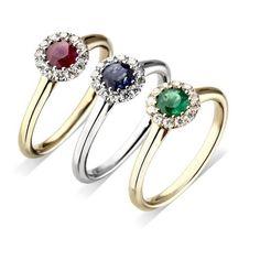 Fully stone set cluster ring de la boutique wayram sur Etsy