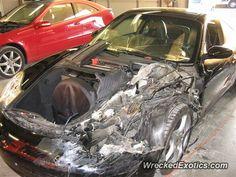 Porsche 911 996 crashed