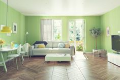 Picture of modern living room interior design. rendering concept stock photo, images and stock photography. Green Design, Living Room Green, Furniture, Modern Living Room Interior, Modern Green Living Room, Interior Design, Room, Room Decor, Outdoor Furniture Sets