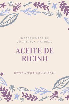 #aceitedericino para la piel, para el cabello, las uñas y aceite de ricino para las pestañas. Descubre todos sus usos cosméticos.