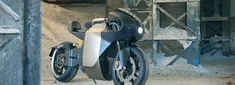 saroléa releases MANX7, an electric motorbike featuring patterned golden color body
