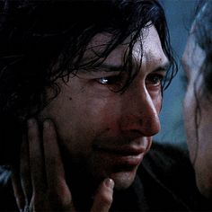 Gosh, our boy is so handsome. His faces in this scene… so beautiful. Rey Star Wars, Star Wars Film, Star Wars Kylo Ren, Star Wars Art, Kylo Ren And Rey, Kylo Ren Adam Driver, Star War 3, The Force Is Strong, Film Serie