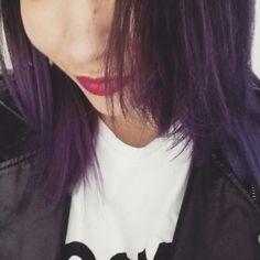 #BrenLee #purplehair