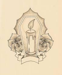 Bildergebnis für how to draw a hand held candle holder