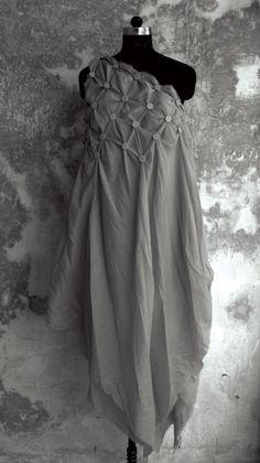 Button Masala Dress by Anuj Sharma Fashion Show, Fashion Outfits, Fashion Design, Indian Fashion Dresses, Textiles, Indian Designer Wear, Stylish Dresses, Dress Patterns, Designer Dresses