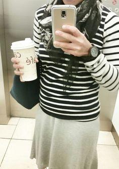 Elevator selfie. Alexander McQueen scarf, Maison Scotch jumper, Bassike skirt