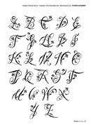 Initial tattoo initial tattoo – Initials tattoo Initials tatto… - Famous Last Words Tattoo Fonts Alphabet, Tattoo Lettering Fonts, Hand Lettering Alphabet, Doodle Lettering, Typography, Calligraphy Alphabet, Cool Tribal Tattoos, Pretty Tattoos, Tattoo Blog