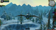 Riding in a winter wonderland...I'm an elf on a bird, can this game get any better?