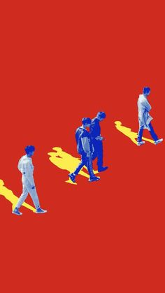 They're back and stronger than ever! Blue Aesthetic, Kpop Aesthetic, Onew Jonghyun, Branding, Album Design, Kid Names, Graphic Design Inspiration, Cute Wallpapers, Album Covers