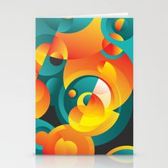Cosmogony #02 Stationery Cards by Azarias. Available at #society6 - $12.00