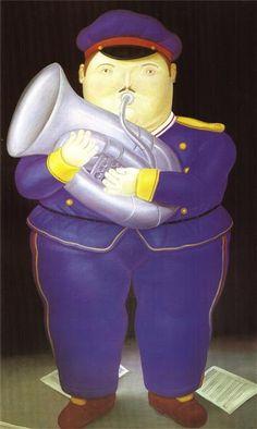 Musician - Fernando Botero