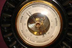 Altes Schiffsbarometer Barometer F. W. Ziehl & Sohn  Königsberg Ostpreussen