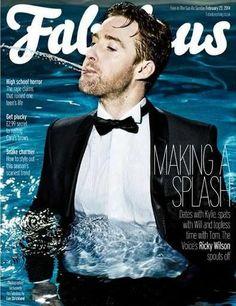 Fabulous Magazine Covers, Articles, Interviews, Pictorials - 2014 - Page 3 Ricky Wilson, Richard Wilson, Rita Ora, Bingo, The Voice, Kaiser Chiefs, Toms, Horror, Interview