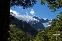 Rob Roy Glacier, Matukituki Valley, Mt Aspiring National Park, Southern Alps, New Zealand