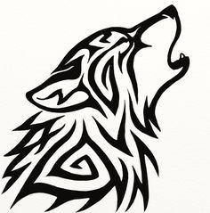 Tribal Wolf Avatar by Hareguizer.deviantart.com