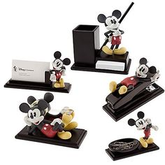Mickey Mouse Office Items - love the tape dispenser!