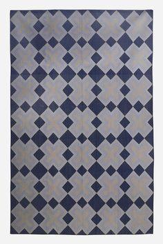 Dhurrie designer series - 3 Across Stone