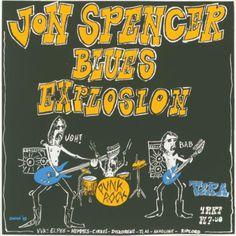 Jon Spencer Blues Explosion / © Hein de Jong, 1993