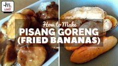 How to Make Pisang Goreng (Fried Bananas) - LIVE Broadcast Fried Bananas, Coconut Sauce, Palm Sugar, Summer Fruit, Food Festival, Singapore, Make It Yourself, Live, Cooking