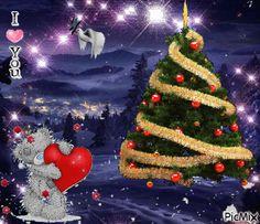 GIFS HERMOSOS: arbol navideños encontrados en la web Merry Christmas Gif, Christmas And New Year, Christmas Holidays, Christmas Cards, Xmas, Christmas Tree, Whimsical Christmas, Beautiful Christmas, Animated Christmas Pictures