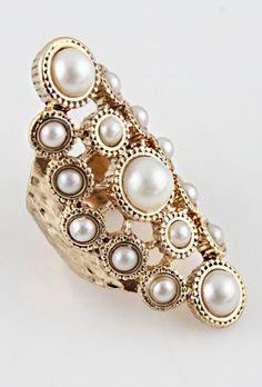 Anillo perlas EUR€5.07