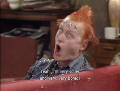 Vyvyan From The Young Ones - Funny Lines - Slapwank Vyvyan from the Young Ones was one of the greatest characters in British comedy. Check out some of the best Vyvyan lines here! Comedy Quotes, Comedy Tv, Tv Show Quotes, Comedy Series, British Humor, British Comedy, Welsh, Rik Mayall, Actor