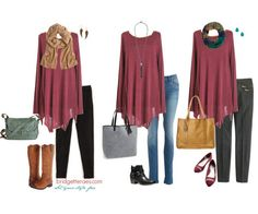How to Style Your Casual Winter Fashion Essentials - Bridgette Raes Style Expert