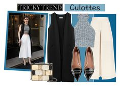 """""""Culottes"""" by city-love-fashion ❤ liked on Polyvore featuring Temperley London, Non, Sondra Roberts, RED Valentino, TrickyTrend and culottes"""