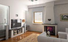 Ideas de decoración para ampliar espacios en el salón - http://www.decoora.com/ideas-de-decoracion-para-ampliar-espacios-en-el-salon.html