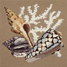 Elizabeth Bradley | Needlepoint Kits The Shells - The Beaumaris ...